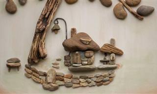 Esta Artista Crea Sus Obras Con Pequeñas Piedras