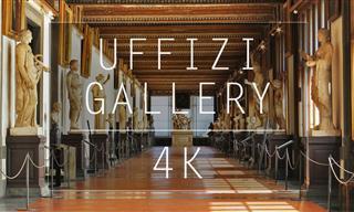 Te Invitamos a Un Recorrido Virtual Por La Galería Uffizi De Florencia