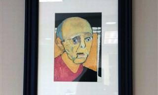 Conmovedor: La Progresión De Un Artista Con Alzheimer