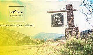 La Belleza De Los Altos De Golán En Israel Desde Un Dron