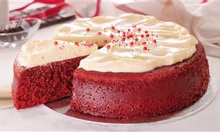 Torta Red Velvet en 10 Minutos Sin Horno