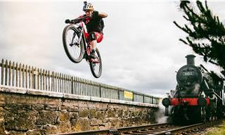 Observa Las Habilidades De Danny MacAskill Con Su Bicicleta