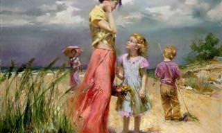 Las Hermosas Pinturas Del Artista Italiano Pino Deni