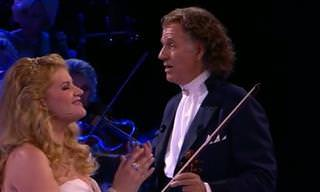 Andre Rieu Interpreta Magistralmente 'Over the Rainbow'