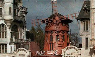 Primeras Fotografías En Color De La Ciudad De París