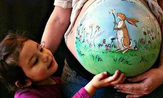 Una Forma De Arte Para Embarazadas…