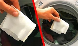 Pon Toallitas Húmedas En La lavadora, y Observa Qué Pasa