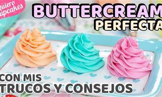 La Buttercream Americana Perfecta Para Tus Cupcakes