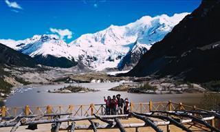 Vuela Sobre La Impresionante Belleza Del Tíbet...