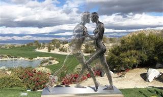10 Impresionantes Esculturas Que Desaparecen Desde Cierto Ángulo