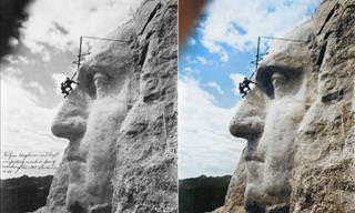 14 Fotos Históricas a Blanco y Negro Mostradas a Color