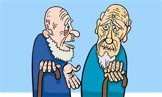 Chiste: Dos Ancianos Visitan Un Burdel