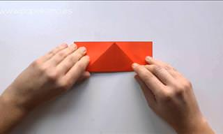 Manualidad Para San Valentín: Caja Corazón de Origami