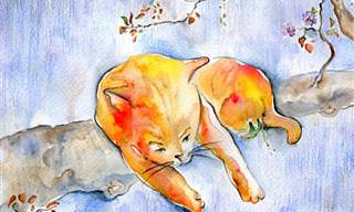 ¿Te Gustan Los Gatos y El Arte? No Te Pierdas Esta Colección