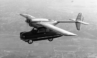 ¿Cuál De Estos Autos Voladores Te Gustaría Tener En Tu Cochera?
