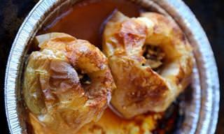 Estas Manzanas Al Horno Son Increíbles