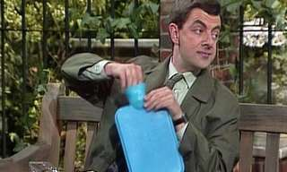 Mr. Bean Prepara Un Sándwich...