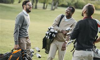 El Jugador De Golf Respetuoso