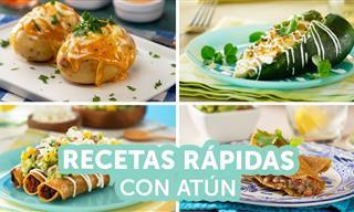 4 Rápidas y Deliciosas Recetas Para Preparar Con Atún