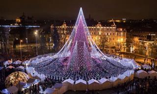 21 Asombrosos Árboles De Navidad De Todo El Mundo