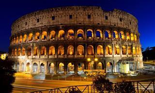 10 Impresionantes y Monumentales Ruinas Romanas