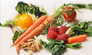 Una Completa Tabla De Los Alimentos y Sus Propiedades