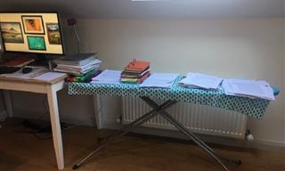 Trabajar Desde Casa: Divertidas Oficinas Improvisadas En Casa