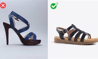 Elige El Calzado Más Seguro Para El Clima Cálido
