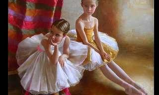 Deslumbrantes Pinturas De Arsen Kurbanov