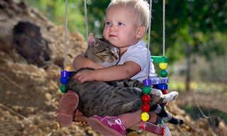 16 Lindas Imágenes De Niños Con Sus Mascotas