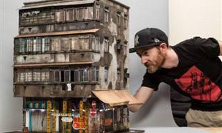 Edificio Urbano En Miniatura y Detalle Por Joshua Smith