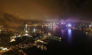 Una Noche y Un Día En La Vida En Hong Kong ...