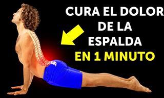 Entrenamiento De 10 Minutos Para Fortalecer Los Músculos De La Espalda