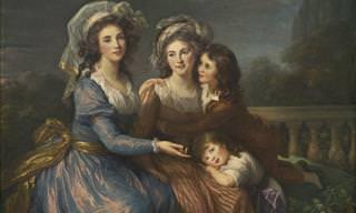 Bellos Retratos Por Élisabeth Louise Vigée-Le Brun