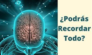 Test: ¿Podrá Tu Cerebro Retener y Recordarlo Todo?