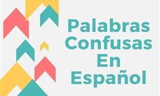 Test: Palabras Confusas En Español