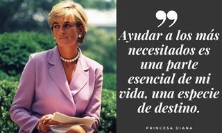 Las Sabias y Bellas Palabras De La Princesa Diana