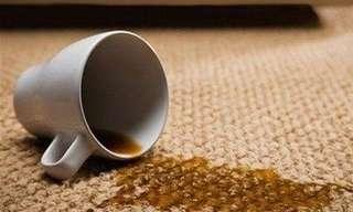 Productos Cotidianos Para Remover Manchas De Café