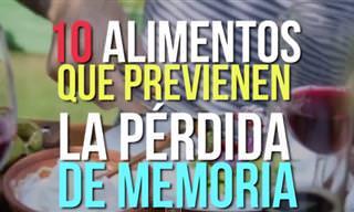 10 Alimentos Que Previenen La Pérdida De Memoria