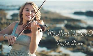 """La Banda Sonora De """"Titanic"""" Interpretada por Taylor Davis"""