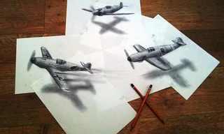 Los Dibujos 3D Más Impresionantes