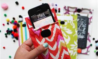 DIY: Colorida Funda Para Tu Tablet o Smartphone