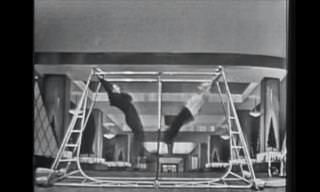 Una Presentación De Los Acróbatas Tom y Jerry De 1950
