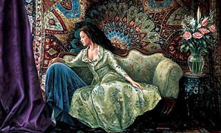 Hermosas Pinturas Realistas De Interiores