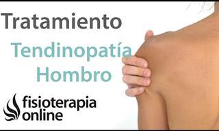 Ejercicios Para La Tendinitis y El Dolor De Hombro