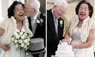 Inspiradoras Imágenes De Recién Casados De La Tercera Edad