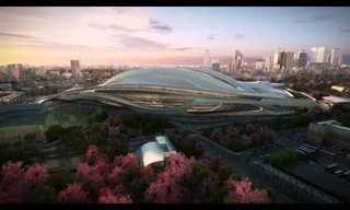 Te Presentamos al Estadio Olímpico del 2020