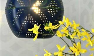 11 Hermosas Lámparas Que Puedes Hacer Por Ti Mismo En Casa
