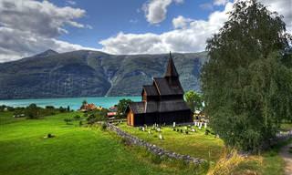 Las Iglesias De Madera Están Entre Los Tesoros Más Preciosos De Noruega