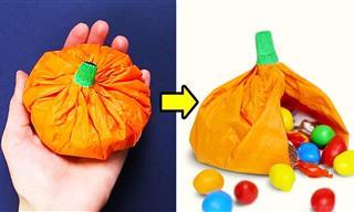 20 Divertidas y Espeluznantes Ideas De Manualidades Para Este Halloween